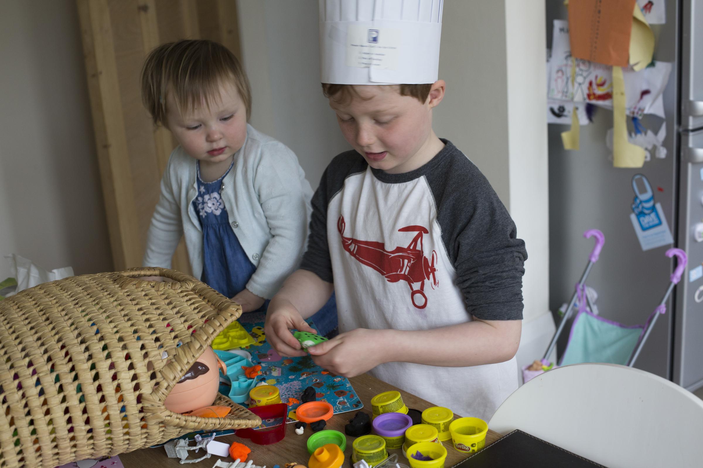 Kids playdoh
