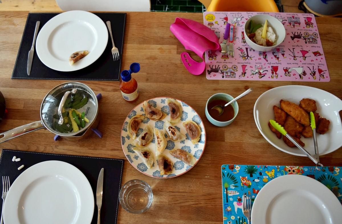 Gyoza table