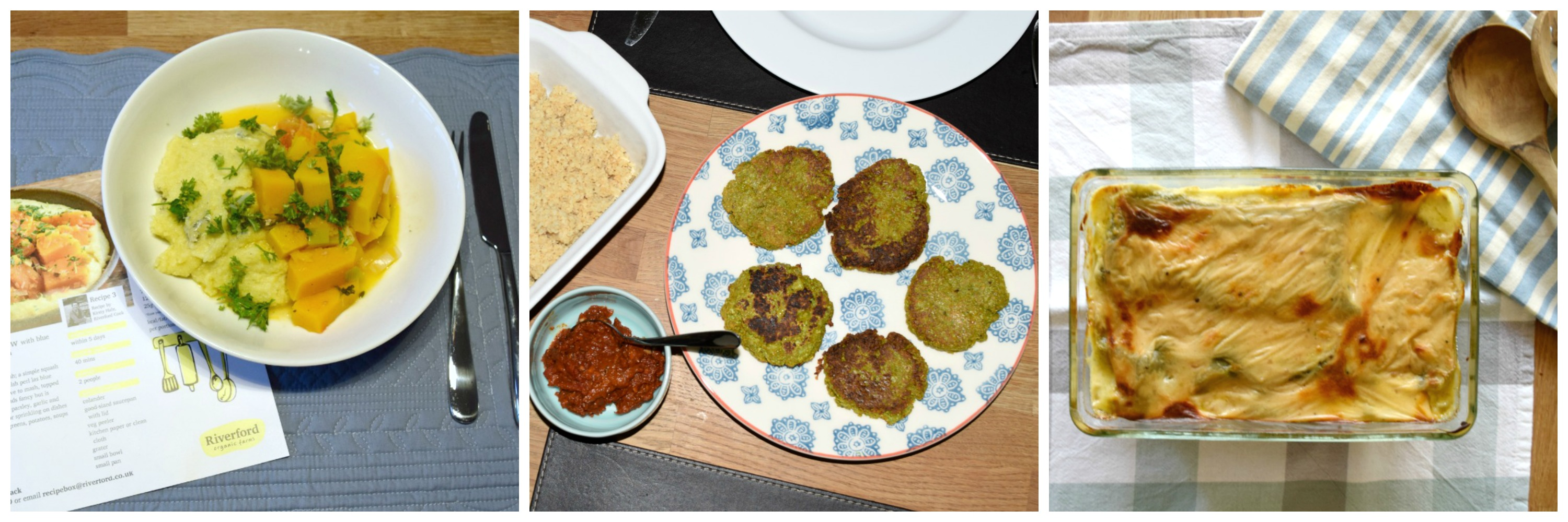 Vegetarian recipes from Riverford
