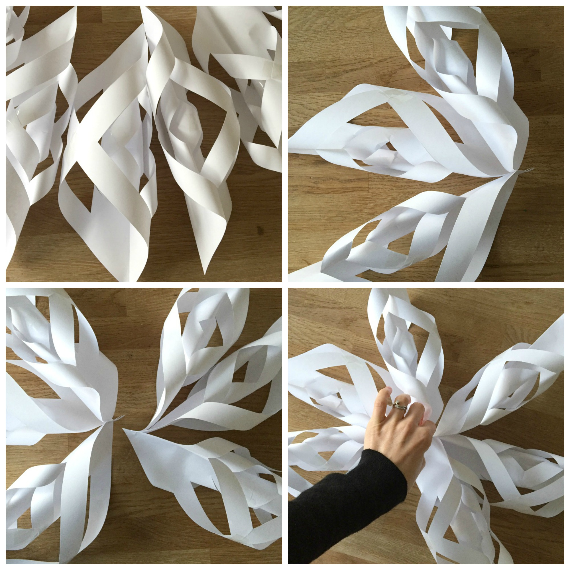 Snowflake tutorial collage