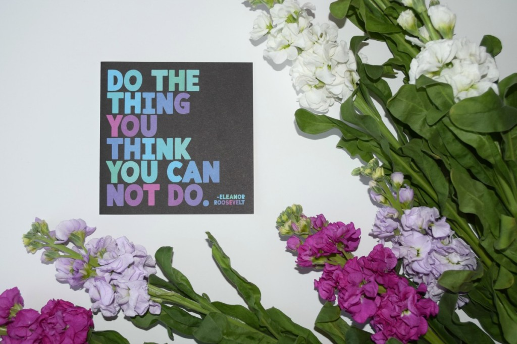 Do the things you think you can't do http://rainbeaubelle.com