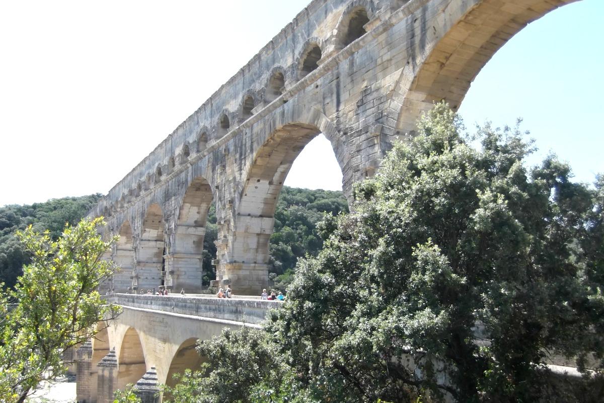 Pont du Gard http://rainbeaubelle.com