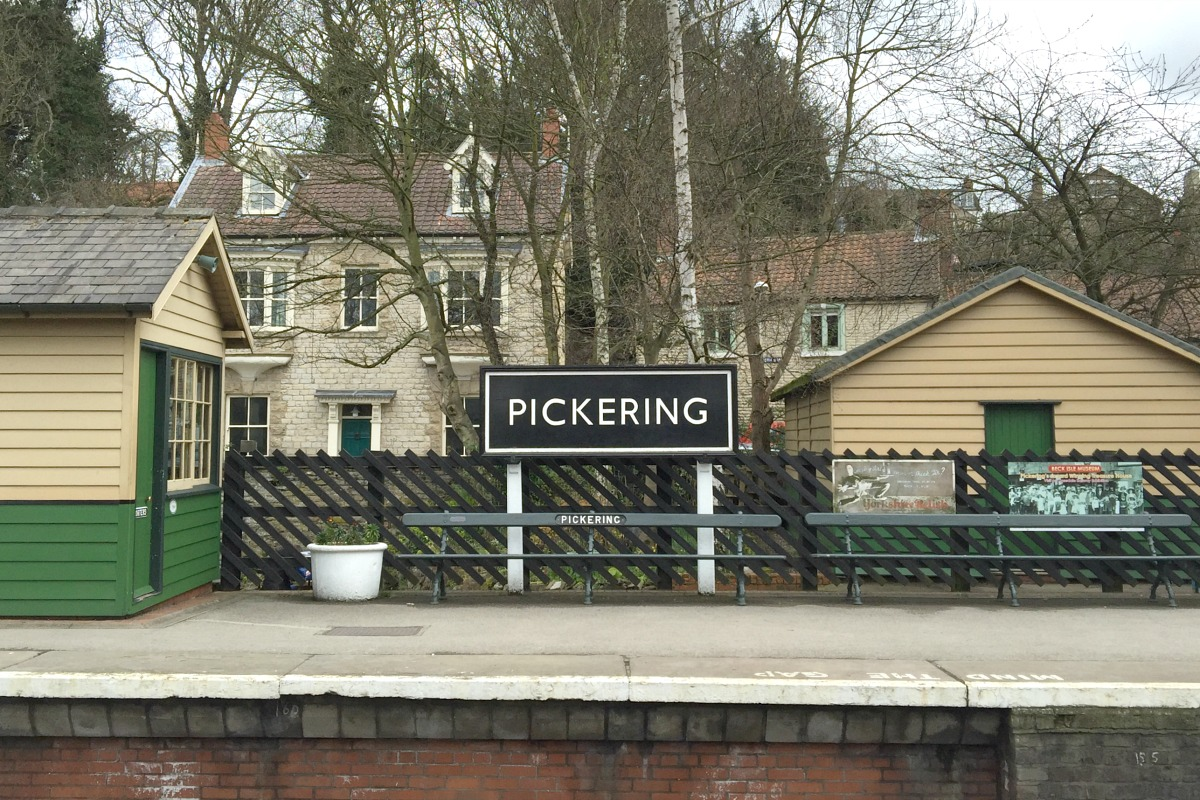Pickering station http://rainbeaubelle.com