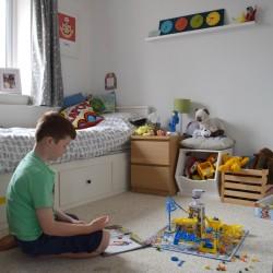 Sam in his bedroom