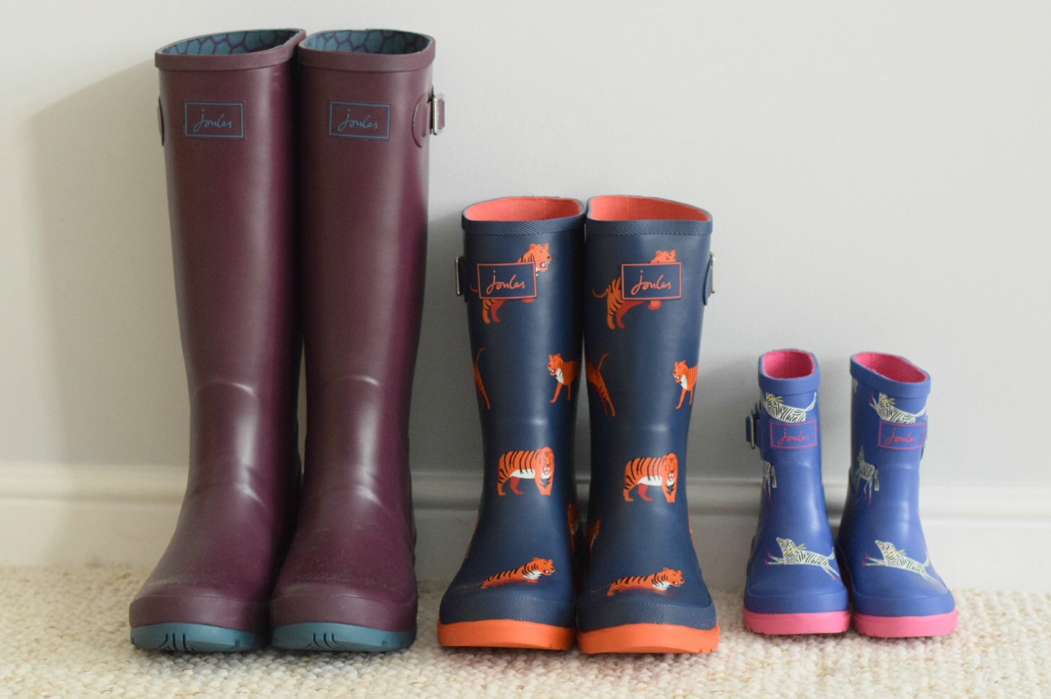Wellies from Joules Autumnn 2016 http://rainbeaubelle.com
