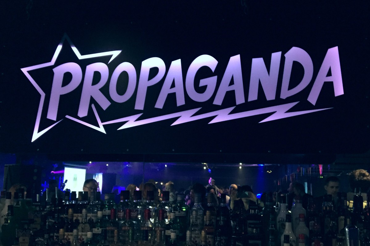 Propoganda's Attic sign