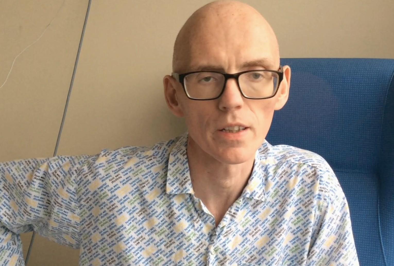 Rog in hospital video still