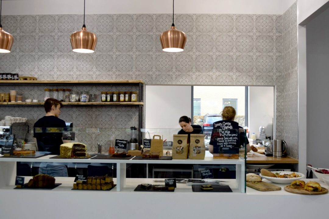 Cafe at Goose in Harrogate, http://rainbeaubelle.com