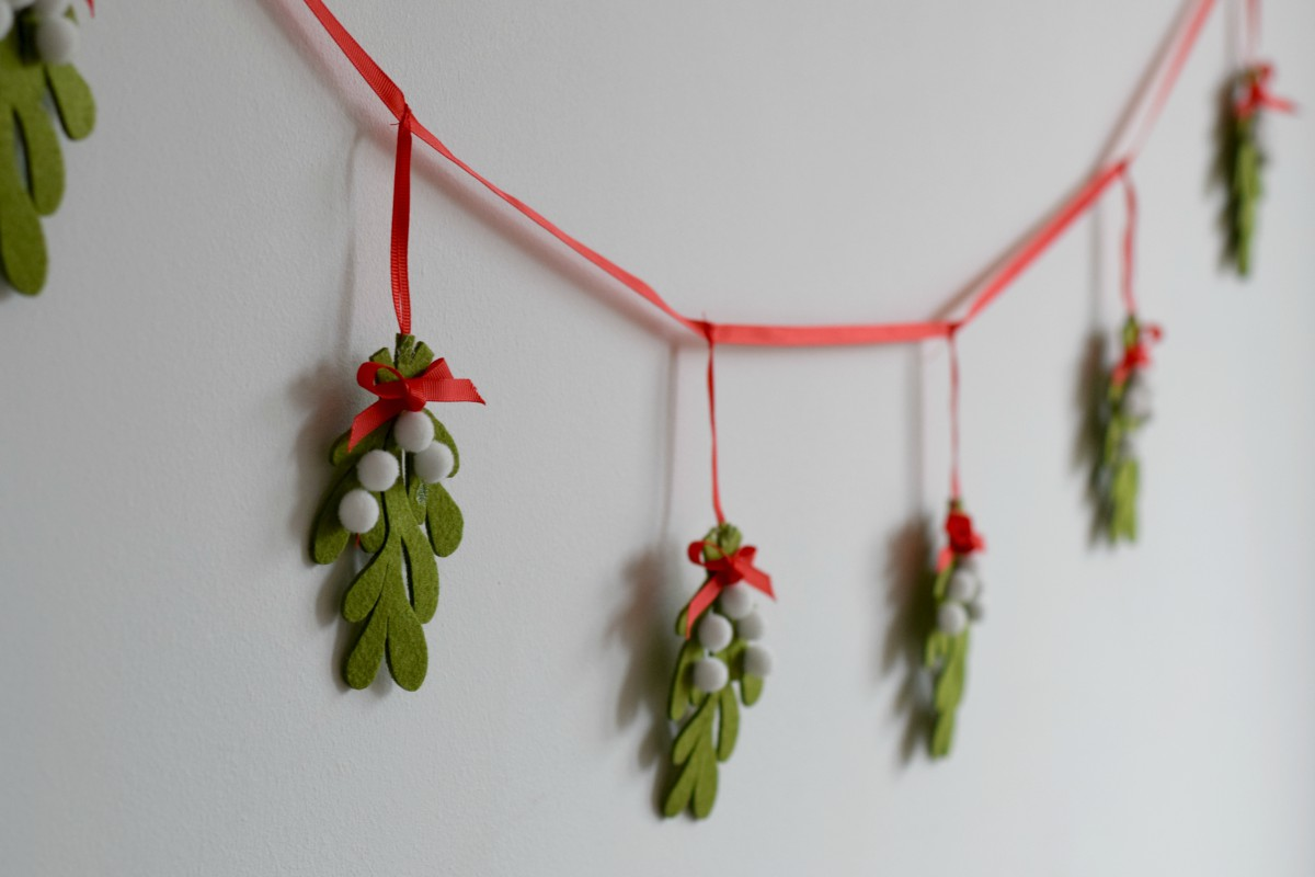 Mistletoe bunting from Laura Ashley