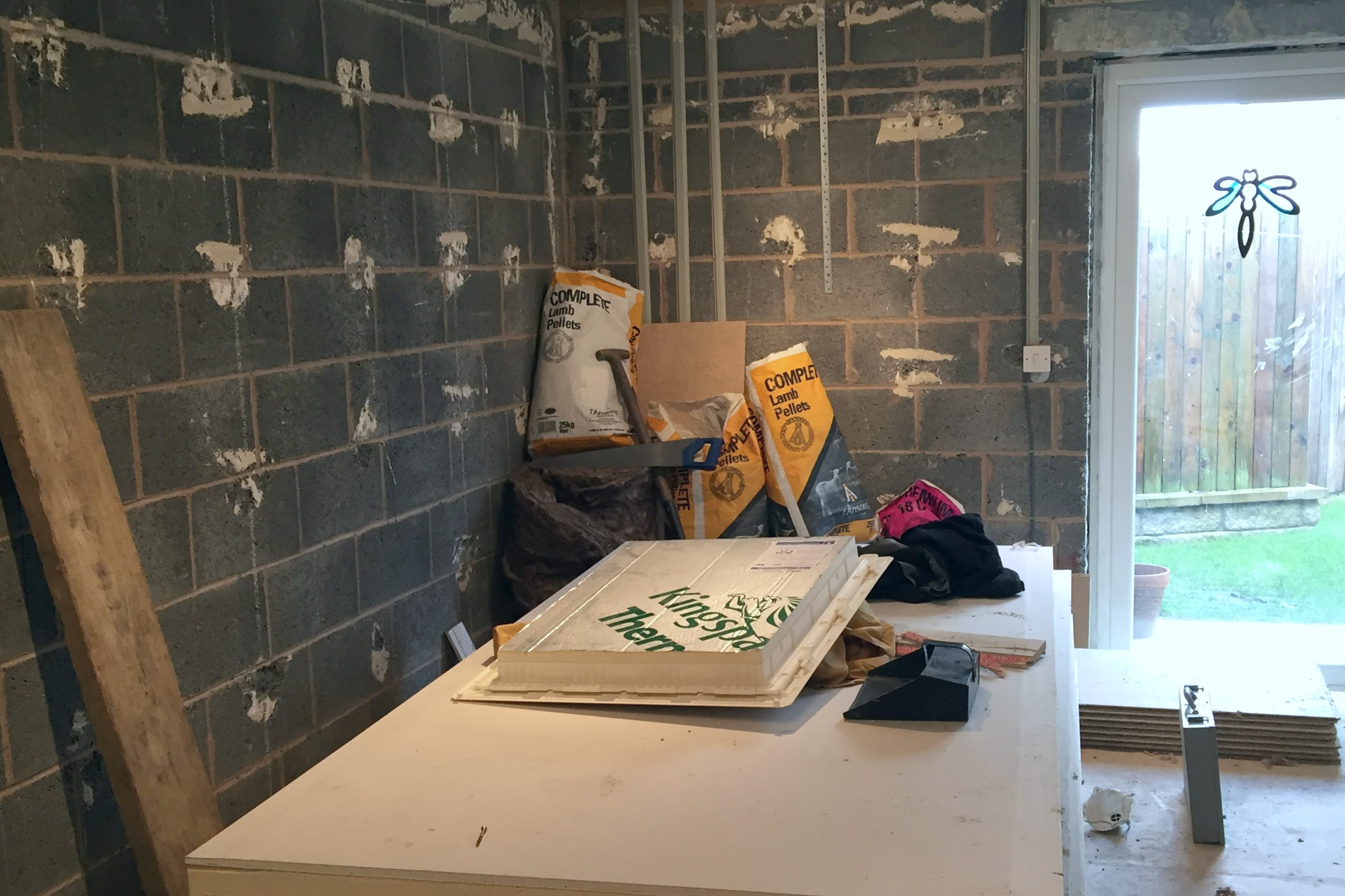 Playroom stripped back