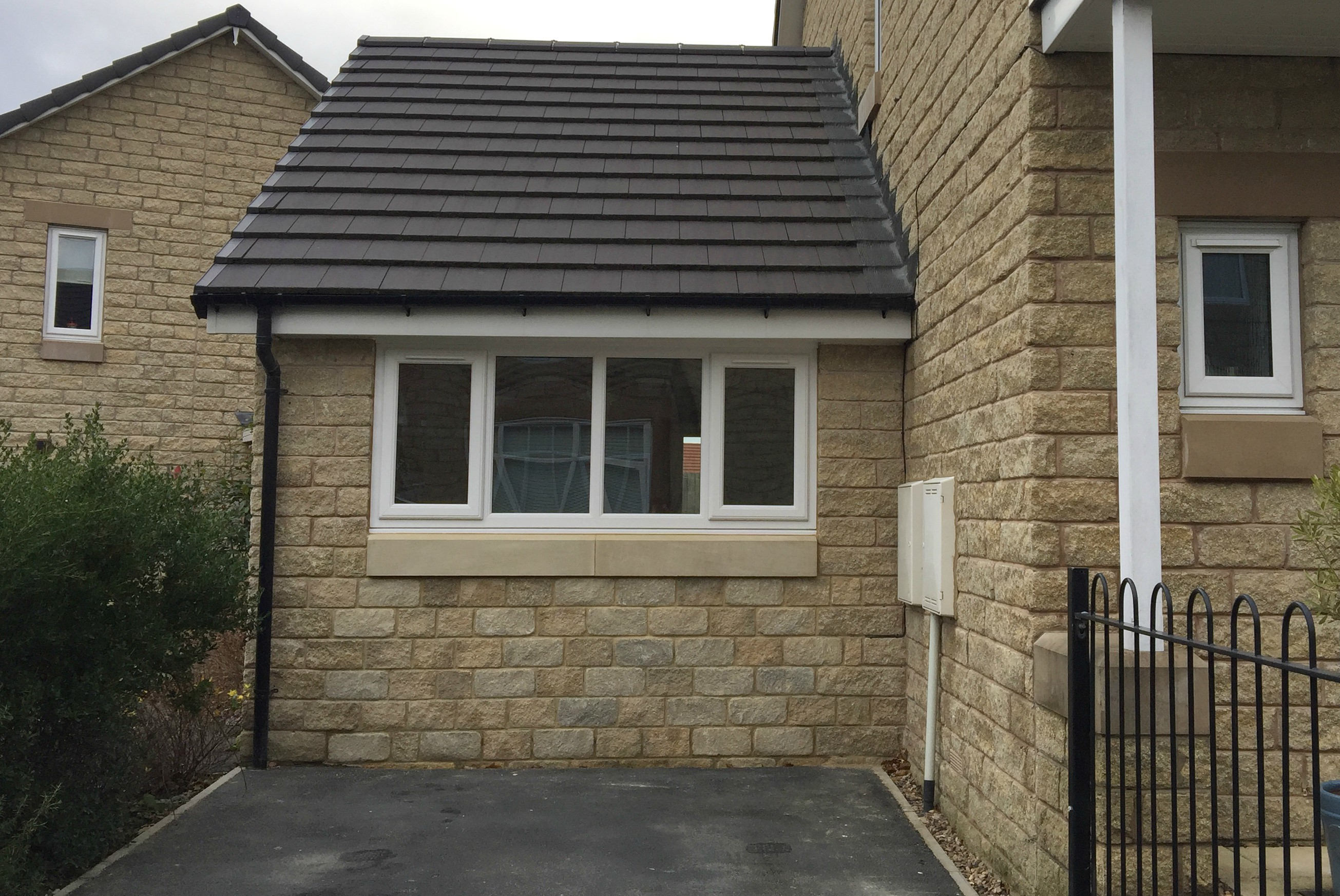 Garage conversion from outside