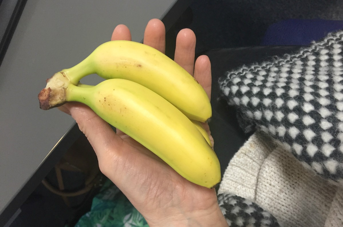 Mini bananas from Marks and Spencer