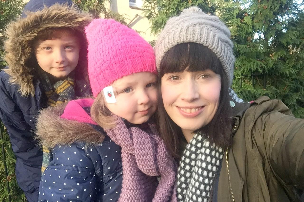 New Year's Walk 2017 Me and Mine Rainbeaubelle