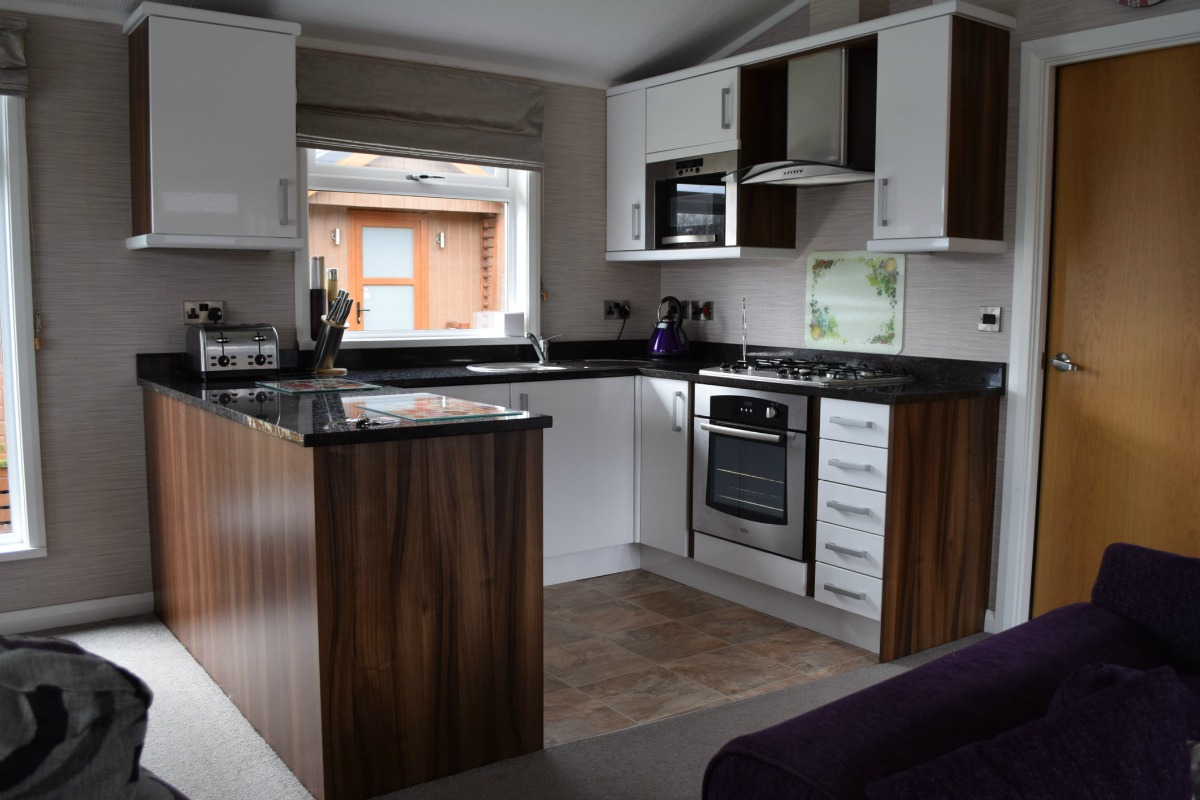 Kitchen at South Lakeland Leisure Village