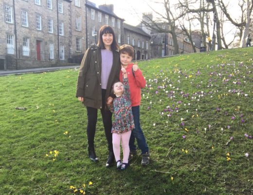 Me and Mine at the castle in Lancaster - Rainbeaubelle