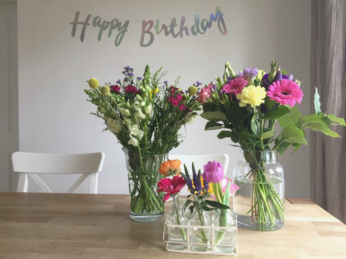 Birthday flowers 2017