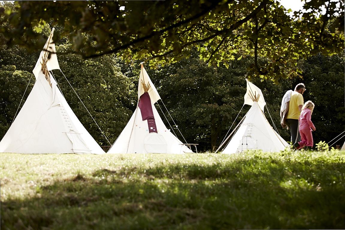 Camping at Just So Festival