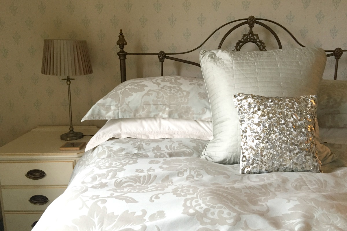 One of the bedrooms of the house in Alfreton http://rainbeaubelle.com