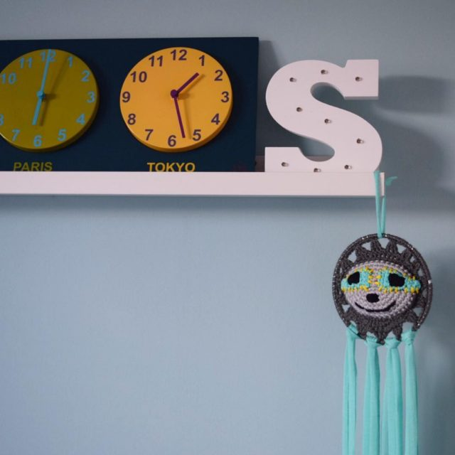 Major cuteness overload with Sams new dream catcher from discoslothdesignshellip