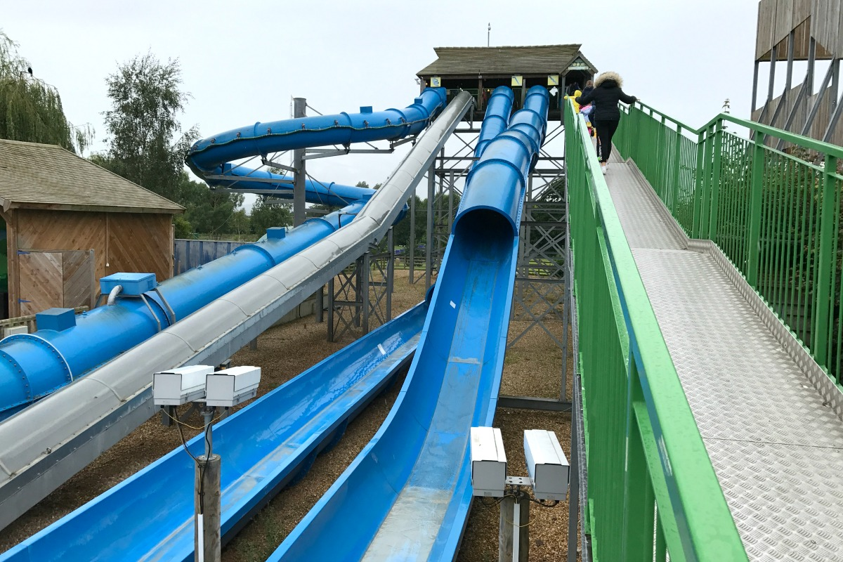 Vortex ride at Crealy