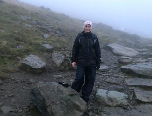 Jules on Snowdon 2