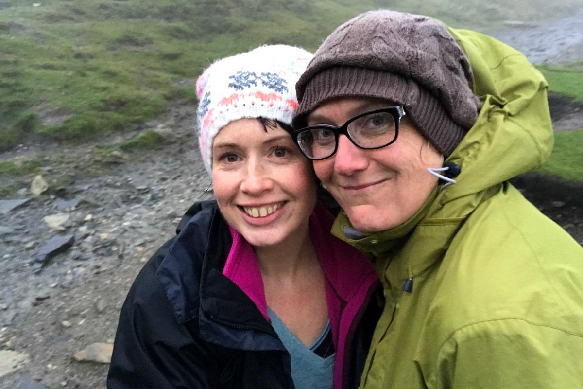 Snowdon with Sam