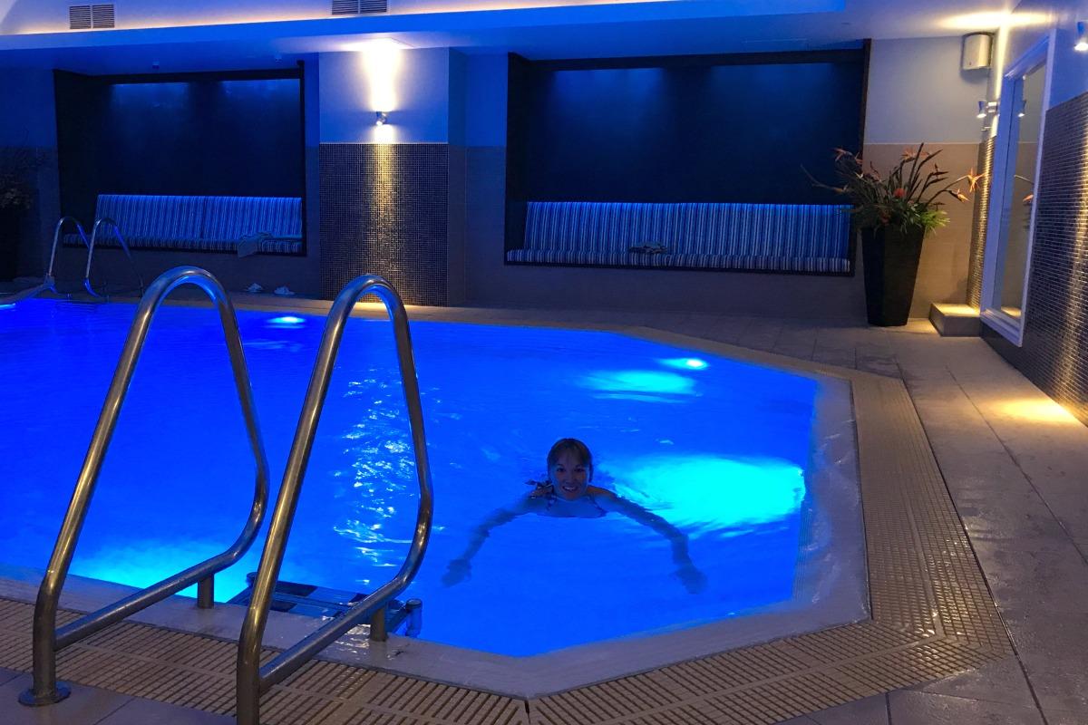 Karen in the pool