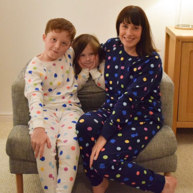 Twinning with my two tripling? in our new getspotted pyjamashellip