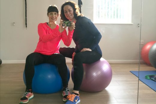 Julia and Sabine personal training Ilkley