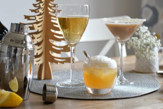 Three cocktails Rainbeaubelle