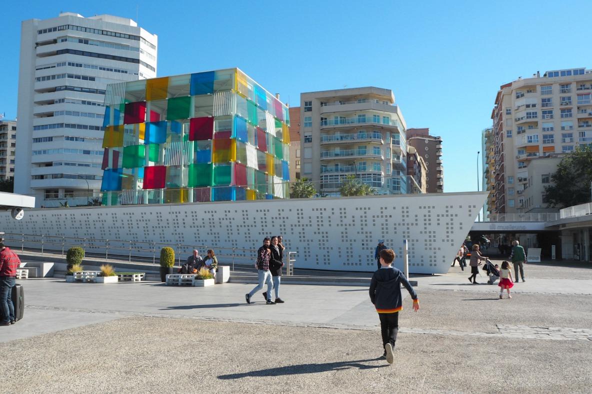 Pompidou Malaga external