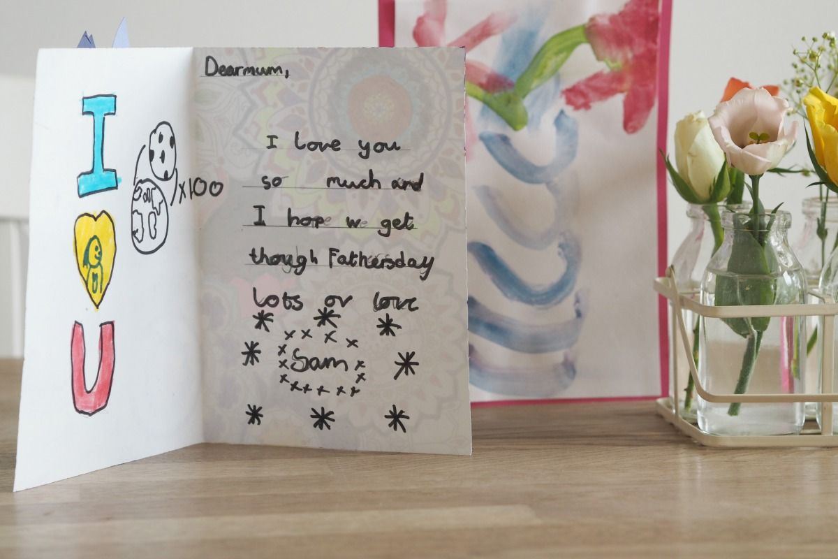 Message in Sam's card