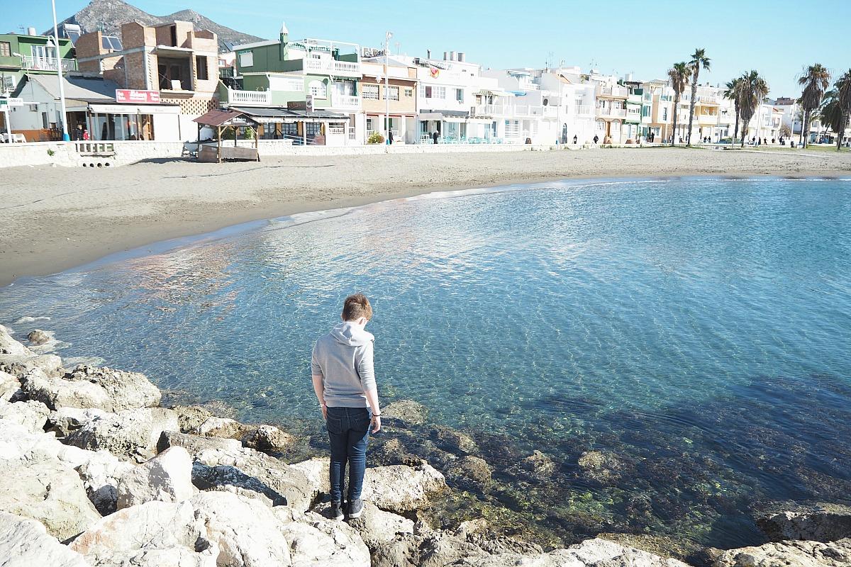 Pedregelajo Sam on beach