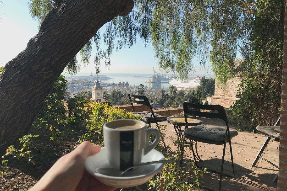 Malaga Alcazaba view