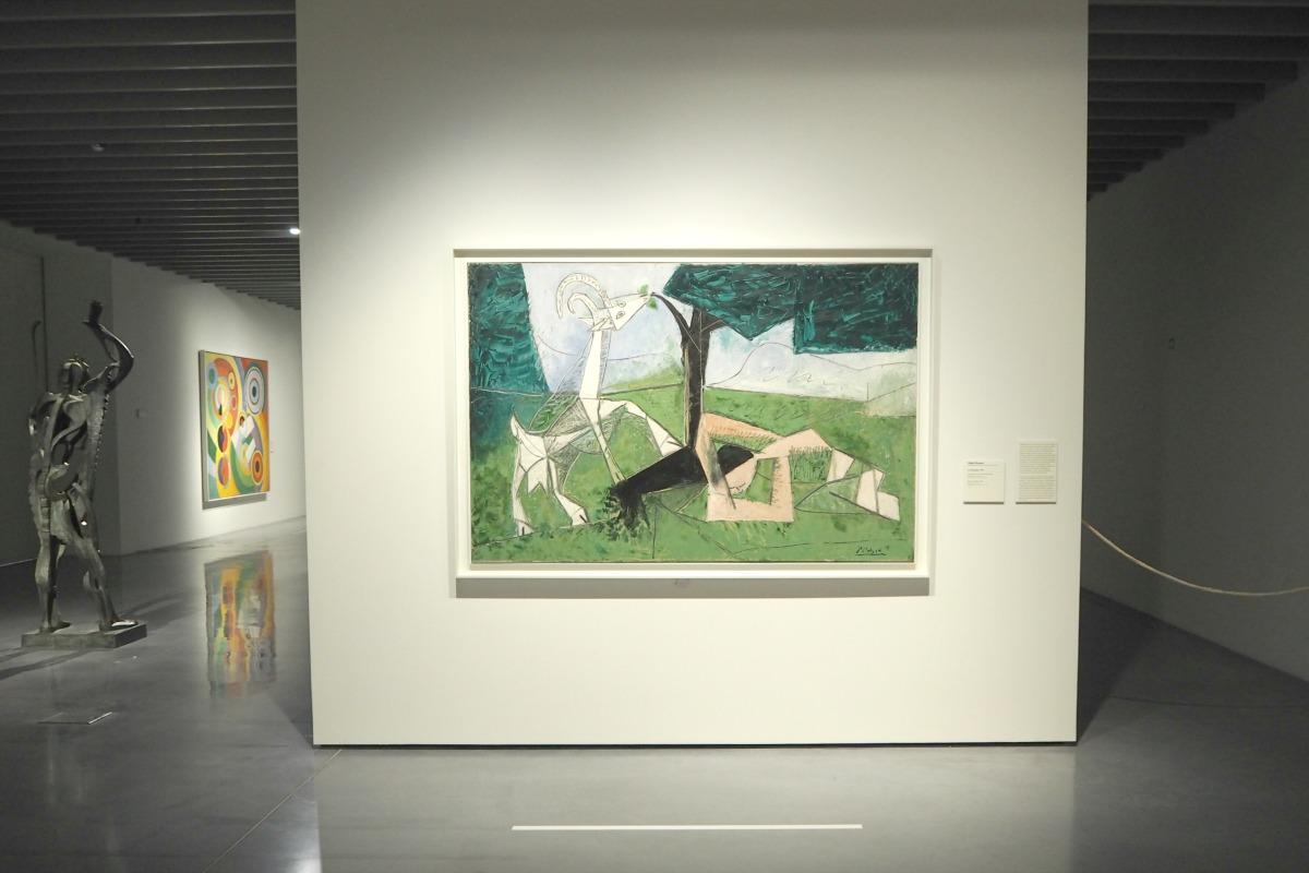 Picasso inside Pompidou