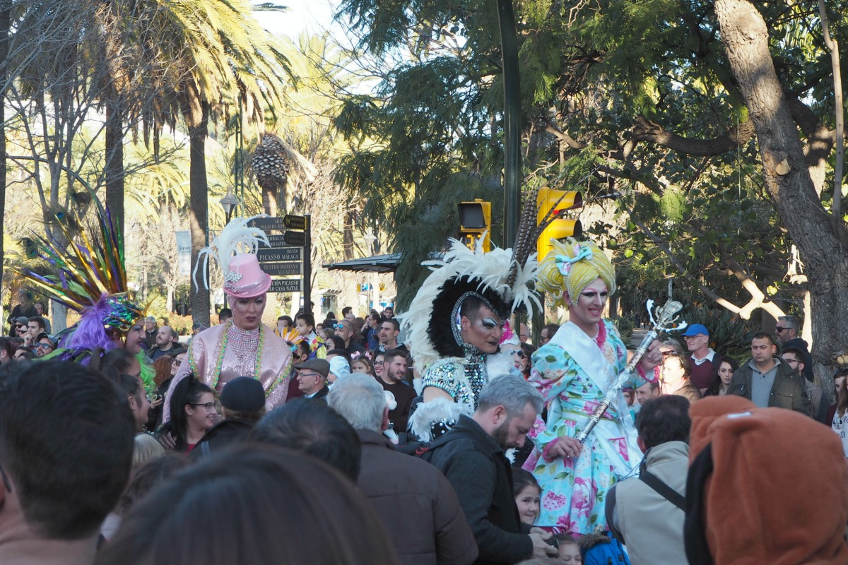 Drag Queens at Malaga Festival