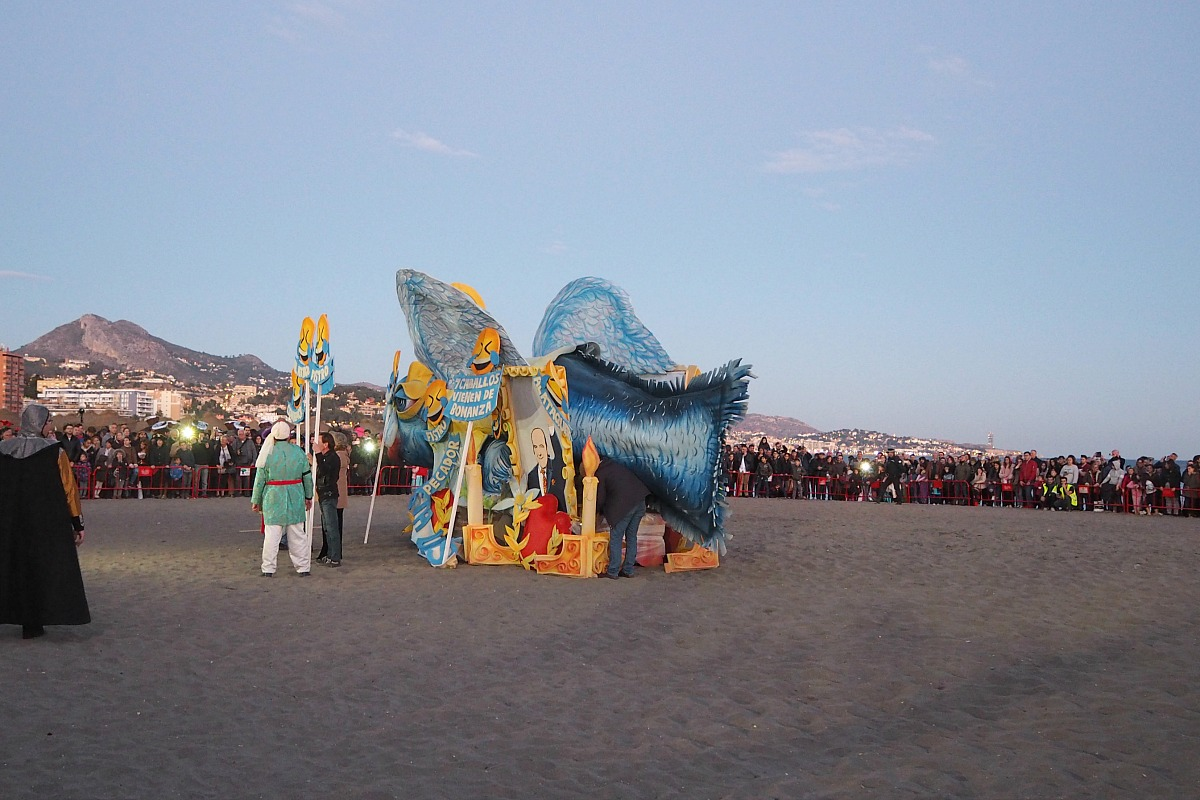 Boqueron on the beach