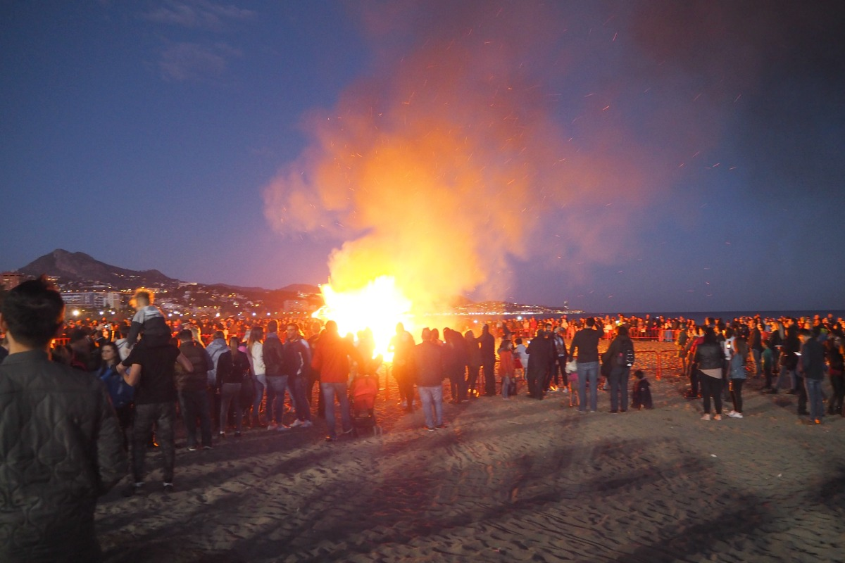 Boqueron on fire