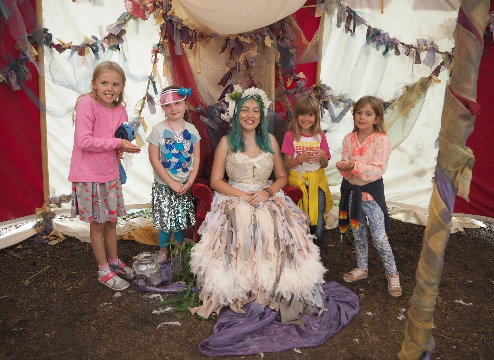 Fairy Queen with girls